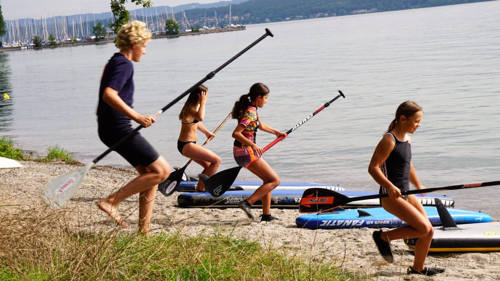Stand Up Paddleing Regatta