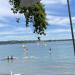 Windsurfen am Bodensee